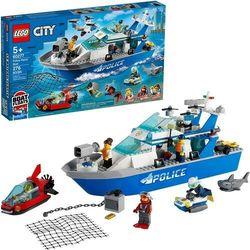 Lego CITY Policyjna łódź patrolowa police patrol boat 60277