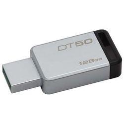 Kingston Data Traveler 50 128GB USB 3.0 Metal/Czarny