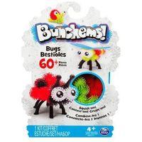 Kreatywne dla dzieci, Kolorowe rzepy Bunchems - zestaw owady 60 el. 778988121610OW