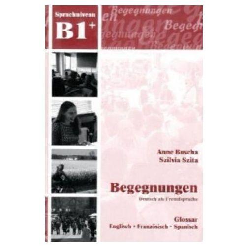 Książki do nauki języka, Begegnungen DaF B1 Glossar (opr. miękka)
