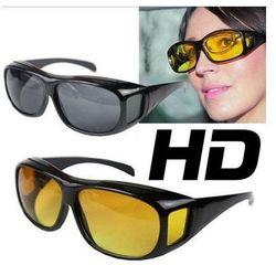 Zestaw 2szt. Specjalnych Okularów HD VISION - Dla Kierowców, Sportowców... (na noc i na dzień)!!