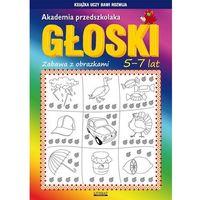 Książki dla dzieci, Akademia przedszkolaka Głoski (opr. miękka)