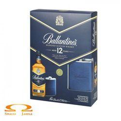 Whiskey Ballantine's 12 YO + piersiówka