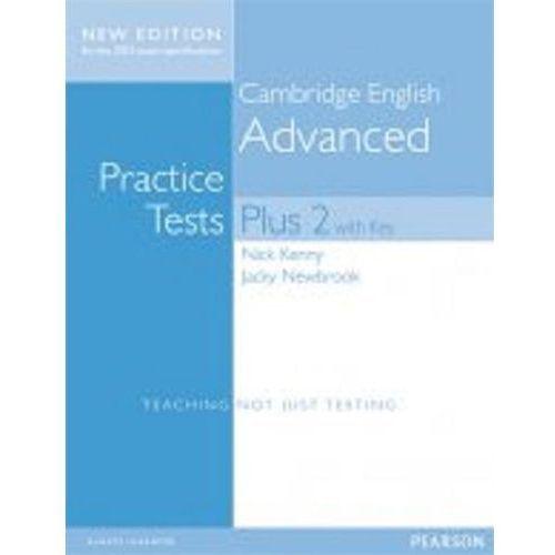 Książki do nauki języka, Practice Tests Plus Advanced 2. Podręcznik z Kluczem + CD (opr. miękka)