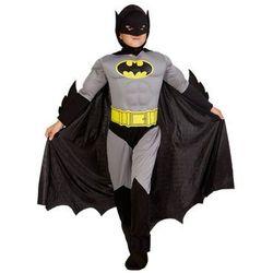 Kostium Bad Man z mięśniami dla chłopca - XXL - 152 cm