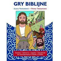 Książki dla dzieci, Gry biblijne Stary Testament Nowy Testament - Praca zbiorowa (opr. broszurowa)