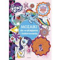 Książki dla dzieci, My Little Pony. Mozaiki do wyklejania i kolorowania (opr. miękka)