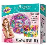 Pozostałe artykuły szkolne, Message Bracelet - Zestaw biżuterii do samodzielnego wykonania
