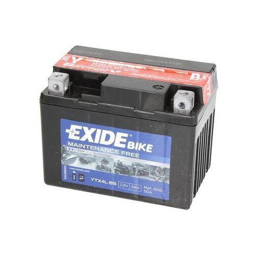 Akumulatory do motocykli, Akumulator EXIDE BIKE AGM YTX4L-BS