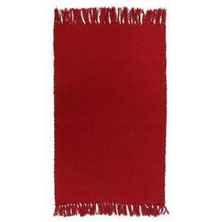 Dywanik 50 x 80 cm czerwony