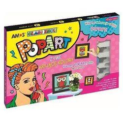 Farby witrażowe Glass Deco 6 kolorów PopArt AMOS