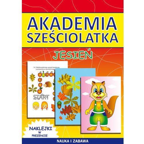 Książki dla dzieci, Akademia sześciolatka Jesień (opr. miękka)