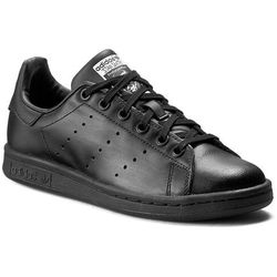 Buty adidas - Stan Smith J M20604 Cblack/Cblack/Ftwwht