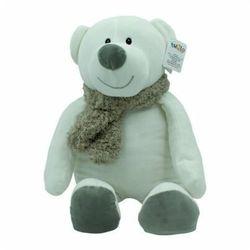 Axiom maskotka niedźwiedź kamil - popielaty szalik 35 cm
