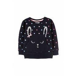Bluza dziewczęca z królikiem 3F3509 Oferta ważna tylko do 2022-02-15