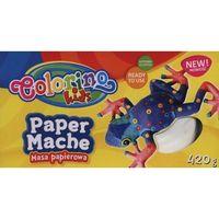Pozostałe artykuły szkolne, Masa papierowa 420 g colorino kids new