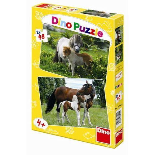 Puzzle, Poníci a Koníci - puzzle 2 motivy v bale neuveden