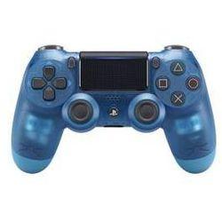 Gamepad Sony Dual Shock 4 pro PS4 v2 - křišťálově modrá (PS719869269)