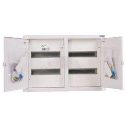 WYPRZEDAŻ Rozdzielnica elektryczna modułowa 4x12 podtynkowa 48 modułów IP31 545x355x120 Biała z zatrzaskiem RP 48A