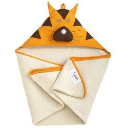 Ręcznik z kapturkiem 3 Sprouts - Tygrys 736211286390