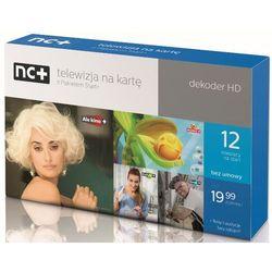 nc+ telewizja na kartę (Pakiet Start+ na 12 miesięcy) - dekoder HD ITI5800S