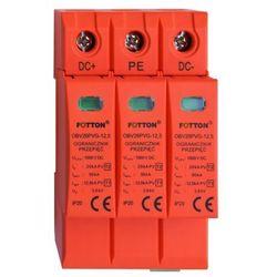 Ogranicznik przepięć FOTTON OBV26PVG-12,5 kl. I, II (B+C) 1000V DC iskiernikowy