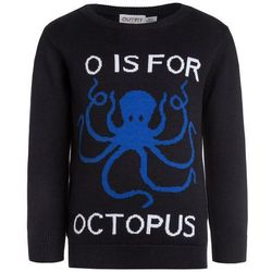 Outfit Kids O IS FOR OCTOPUS JUMPER Sweter dark blue