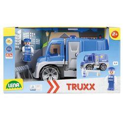 Samochód Policja z akcesoriami w pudełku Truxx