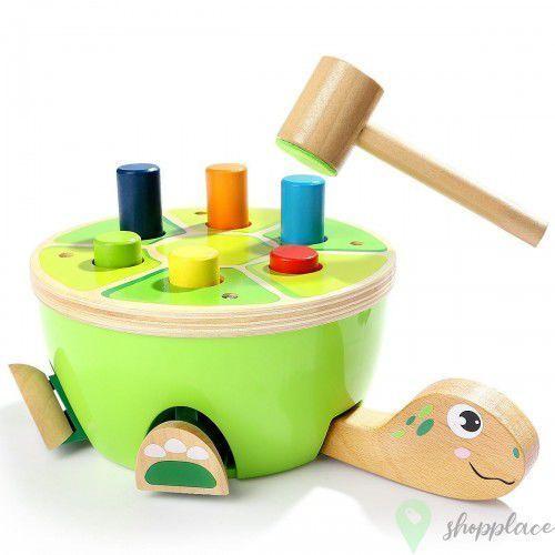 Pozostałe zabawki dla najmłodszych, Przebijanka Żółw
