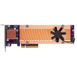 Karta rozszerzeń do serwera NAS QNAP QM2-4P-284 PCI-E x8 Gen 2 4x NVMe M.2 2280 LP