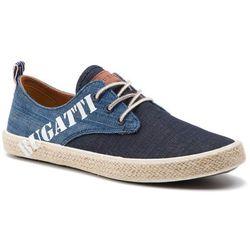 Espadryle BUGATTI - 321-72302-6900-4100 Dark Blue
