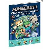 Naklejki, Minecraft. Księga podwodnej przygody z naklejkami Praca zbiorowa
