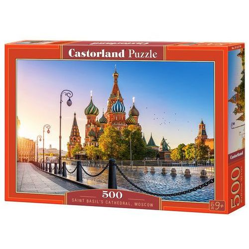 Puzzle, Puzzle Saint Basil's Cathedral, Moscow 500 - Castor