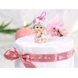 Figurka - Dziewczynka z króliczkiem - 6 cm
