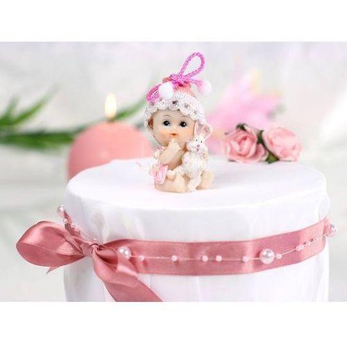 Rzeźby i figurki, Figurka - Dziewczynka z króliczkiem - 6 cm