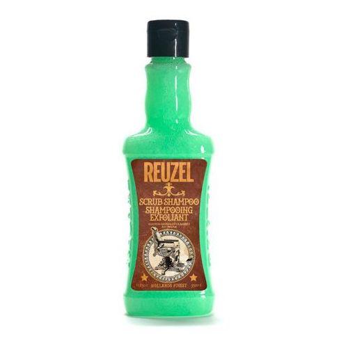 Mycie włosów, Reuzel Scrub Shampoo | Szampon oczyszczający 350ml