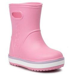 Kalosze CROCS - Crocband Rain Boot K 205827 Pink Lemonade/Lavender