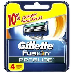 GILLETTE 4szt Fusion ProGlide Manual Wkłady do maszynki do golenia