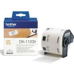 Brother etykiety adresowe (małe) 29 mm. x 62 mm. DK-11209, DK11209