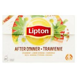 LIPTON 20x1,6g Trawienie Herbata ziołowa Ekspresowa