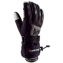 Rękawice narciarskie Viking Printer - czarno-szary viking (-28%)