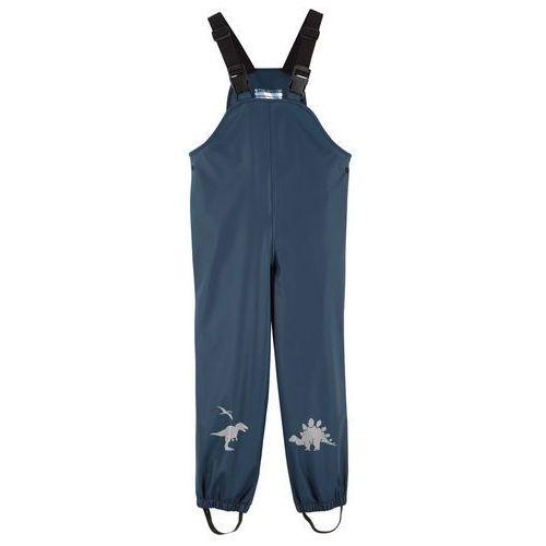 Spodnie dziecięce, Spodnie chłopięce przeciwdeszczowe bonprix ciemnoniebieski