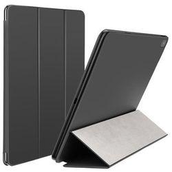 Baseus Simplism   Skórzane etui magnetyczne z klapką pokrowiec stojak do Apple iPad Pro 12,9' 2018   czarny
