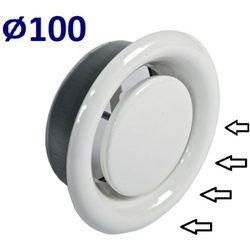 Anemostat Wywiewny Średnice od 100 do 200 Zawór do Wentylacji Wszystkie Średnice Średnica [mm]: 100
