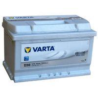 Akumulatory samochodowe, Akumulator VARTA E38 Silver Dynamic 74Ah 750A L-