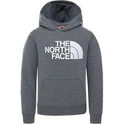 The North Face Drew Peak Bluza Dzieci, szary XL   170-175 2021 Bluzy