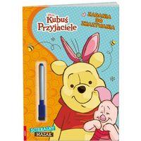 Książki dla dzieci, Disney kubuś i przyjaciele. zadania do zmazywania (opr. miękka)