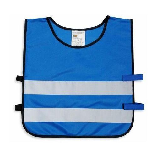 Pozostała odzież dziecięca, Kamizelka odblaskowa dla dzieci XS 90-110cm - xs \ niebieski