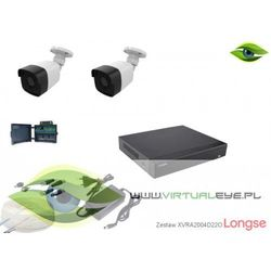 Zestaw do monitoringu AHD 1080P Longse XVRALBM24HTC200F22