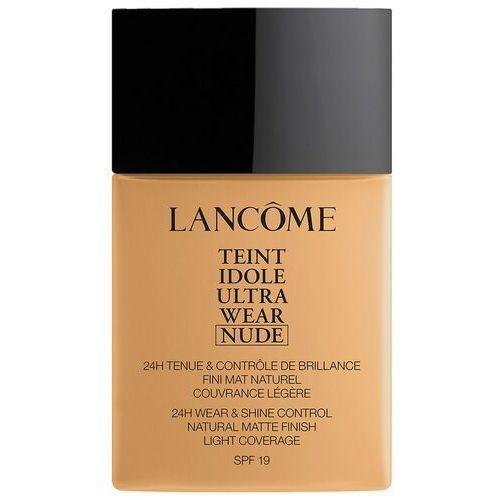 Podkłady i fluidy, Lancôme Teint Idole Ultra Wear Nude SPF19 podkład 40 ml dla kobiet 055 Beige Idéal